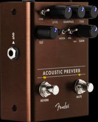 Fender Acoustic Preverb Preamp/Reverb Pedal
