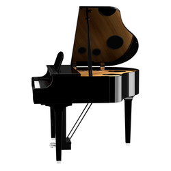 Yamaha CLP795 Digital Grand Piano in Polished Black - 5 Year Warranty  (Subject to registering with Yamaha)