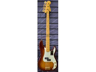 Fender 75th Anniversary Commemorative Precision Bass, 2-Colour Bourbon Burst, Maple