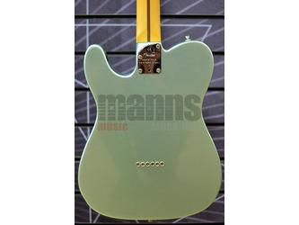 Fender American Professional II Telecaster Mystic Surf Green Electric Guitar & Case