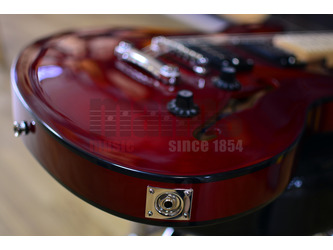 Fender Squier Affinity Series Starcaster Candy Apple Red Electric Guitar