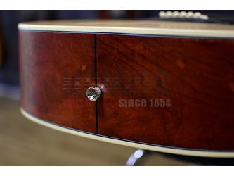 SX Dreadnought Natural Acoustic Guitar