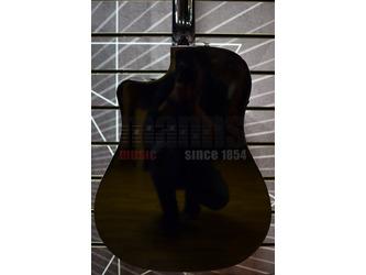 Fender Classic Design CD-60SCE Dreadnought Black Electro Acoustic Guitar