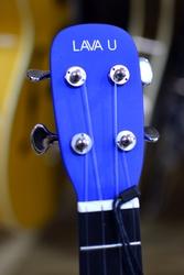 LAVA U Freeboost Blue Electro Concert Ukulele & Case