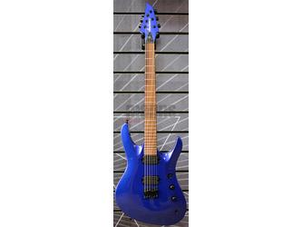Jackson Pro Series Signature Chris Broderick Soloist HT6 Metallic Blue Electric Guitar
