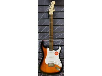 Fender Squier Bullet Strat Electric Guitar With Tremolo in Brown Sunburst