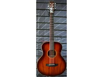 Tanglewood Winterleaf Exotic TW MINI E KOA Folk Autumn Burst Travel Electro Acoustic Guitar