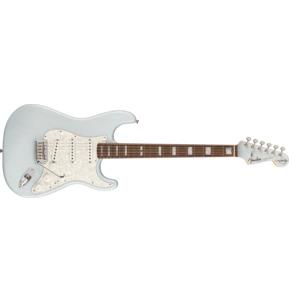 Fender Artist Kenny Wayne Shepherd Stratocaster Transparent Faded Sonic Blue Electric Guitar & Case