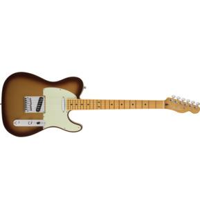 Fender American Ultra Telecaster Mocha Burst Electric Guitar & Case