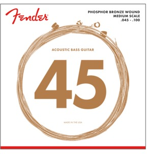 Fender 7060 Phosphor Bronze Acoustic Bass Strings