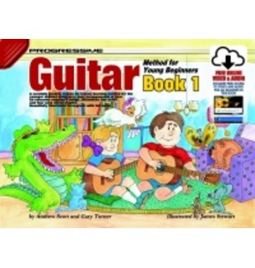 Progressive Guitar Method For Young Beginners Book and Download