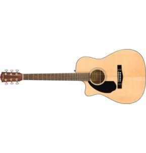 Fender Classic Design CC-60SCE Concert Natural Left-Handed Electro Acoustic Guitar