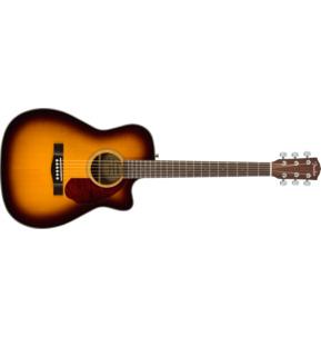 Fender Classic Design CC-140SCE Concert Sunburst Electro Acoustic Guitar & Case