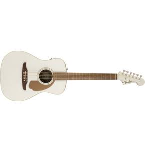 Fender California Malibu Player Arctic Gold Short Scale Electro Acoustic Guitar