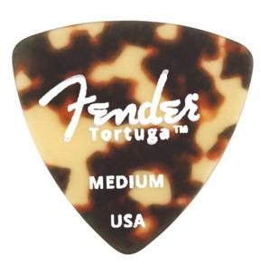 Fender 346 Shape Tortuga Ultem Tortoise Shell Medium Guitar Pick - Pack of 6