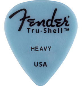 Fender 351 Shape Tru-Shell Casein Heavy Guitar Pick