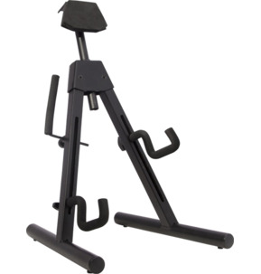 Fender Universal A-Frame Electric Guitar & Bass Stand, Black