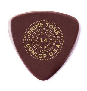 Dunlop Primetone Small Triangle Smooth Ultex 1.40mm Guitar Pick - Pack of 3