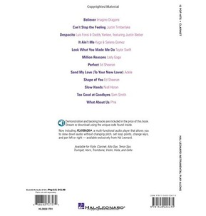12 Pop Hits: Clarinet