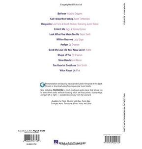 12 Pop Hits: Alto Sax