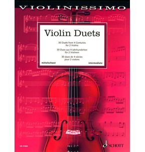 30 Violin Duets From 4 Centuries