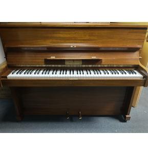 Secondhand John Broadwood Upright Piano in Walnut - C1979