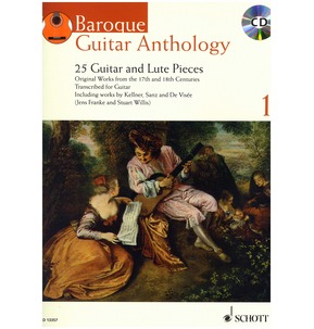 Baroque Guitar Anthology - Volume 1 (with CD)