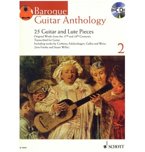 Baroque Guitar Anthology - Volume 2 - (with CD)