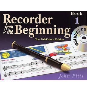 Recorder From The Beginning Pupil's Book/CD Book 1