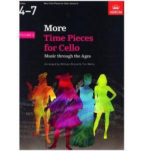 ABRSM More Time Pieces for Cello