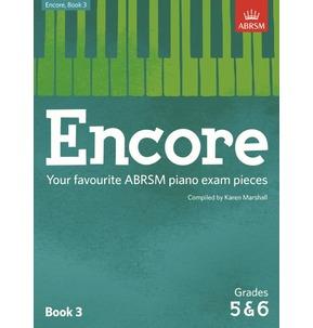 ABRSM: Encore - Book 3 (Grades 5 & 6)