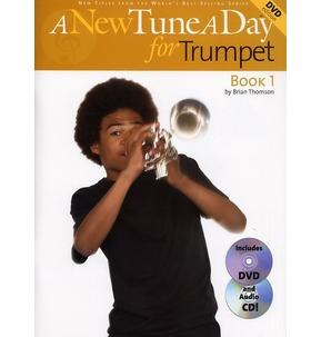 A New Tune A Day For Trumpet - Book 1 - Book/CD/DVD