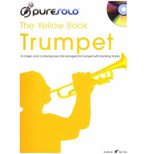 Puresolo: The Yellow Book Trumpet (Instrumental Solo) With CD