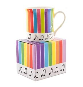 Colour Block Mug: Stripes