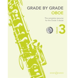 Grade By Grade for Oboe (Boosey & Hawkes) Grade 3