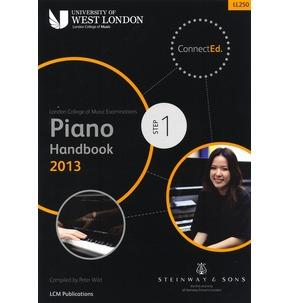 London College Of Music: Piano Handbook 2013 Graded Books
