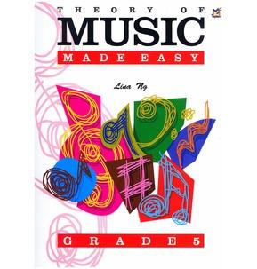 Theory of Music Made Easy Graded Books - Linda Ng Grade 5