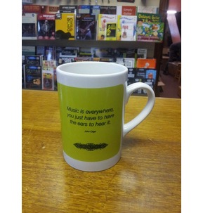 John Cage Centenary Mug by Faber Music