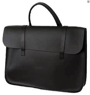 Leather Music Case Black