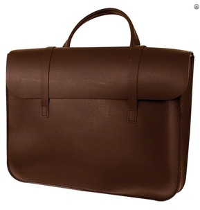 Leather Music Case Brown