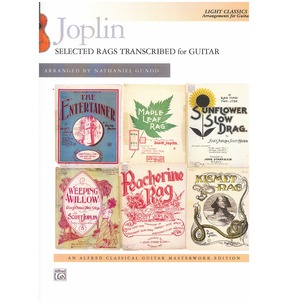 Joplin: Selected Rags Transcribed for Guitar