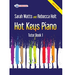 Hot Keys Piano Tutor - Book 1 (with CD)