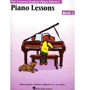 Hal Leonard Student Piano Library: Piano Lessons Book 2