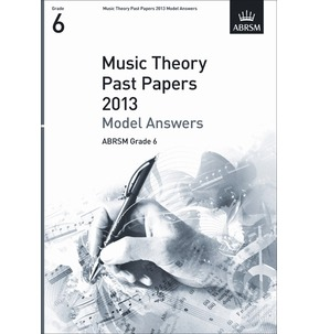 2013 Theory Exam Paper Model Answers Grade 6