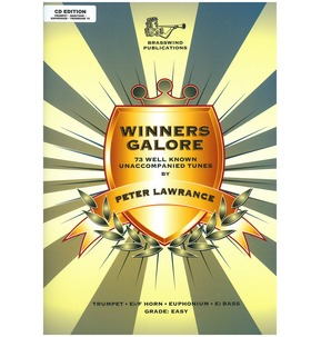 Peter Lawrance: Winners Galore (Treble Brass) CD Edition