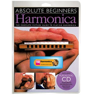 Absolute Beginners Harmonica Pack - Book/CD/Harmonica