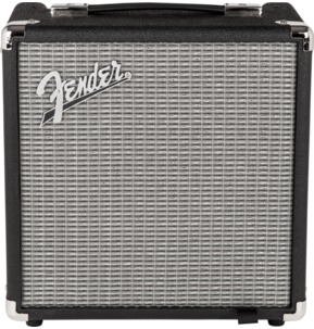 Fender Rumble 15 (V3), Black/Silver Bass Guitar Amplifier Combo