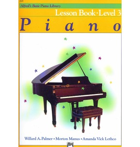 Alfred's Basic Piano Library: Lesson Book Level 3