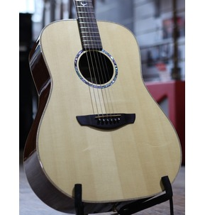 Faith FSHG Hi-Gloss Saturn Dreadnought Acoustic Guitar & Hard Case