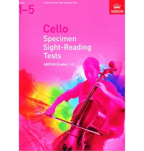 Cello Specimen Sight-Reading Tests 2012 Grades 1-5